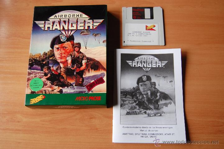 RARO JUEGO ORDENADOR PC AIRBORNE RANGER SPECTRUM (Juguetes - Videojuegos y Consolas - Spectrum)