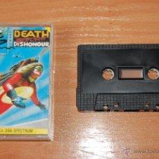 Videojuegos y Consolas: JUEGO ORDENADOR PC DEATH BEFORE DISHONOUR SPECTRUM. Lote 48418740
