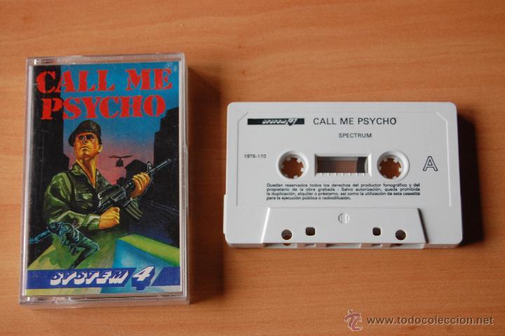 JUEGO ORDENADOR PC CALL ME PSYCHO SPECTRUM (Juguetes - Videojuegos y Consolas - Spectrum)