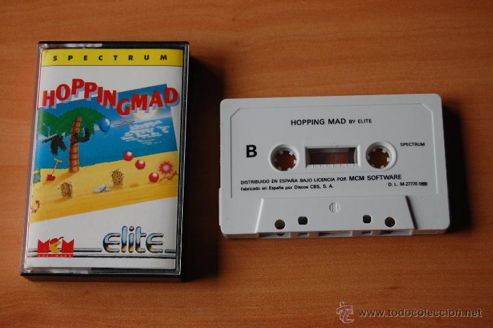 JUEGO ORDENADOR PC HOPPINGMAD SPECTRUM (Juguetes - Videojuegos y Consolas - Spectrum)