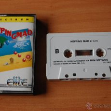 Videojuegos y Consolas: JUEGO ORDENADOR PC HOPPINGMAD SPECTRUM. Lote 48418829