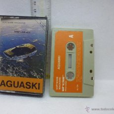 Videojuegos y Consolas: AGUASKI-SOFTWARE MAGAZINE -SINCLAIR-MADE IN SPAIN. Lote 48474445