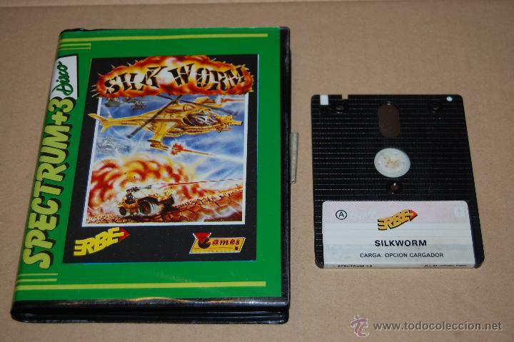 JUEGO ORDENADOR PC SILK WORM SILKWORM SPECTRUM +3 (Juguetes - Videojuegos y Consolas - Spectrum)