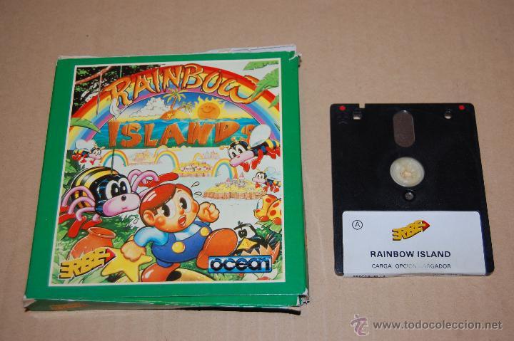 JUEGO ORDENADOR PC RAINBOW ISLAND SPECTRUM +3 (Juguetes - Videojuegos y Consolas - Spectrum)