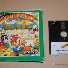 Videojuegos y Consolas: JUEGO ORDENADOR PC RAINBOW ISLAND SPECTRUM +3. Lote 48503139
