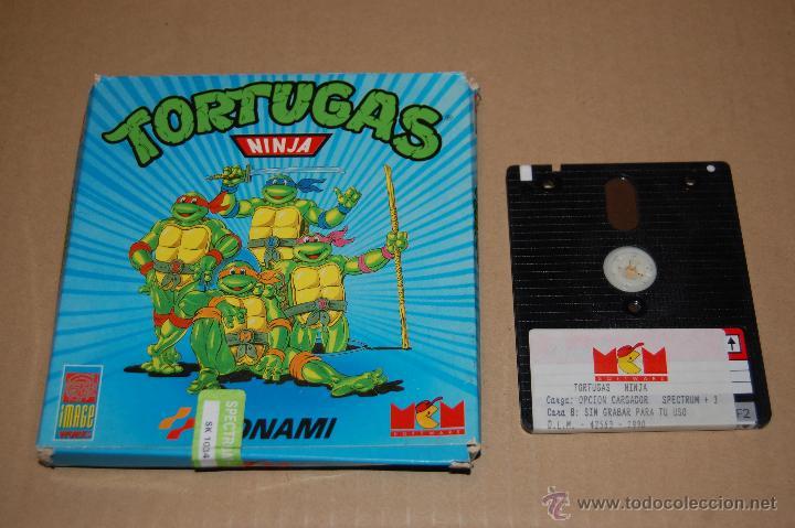 JUEGO ORDENADOR PC TORTUGAS NINJA SPECTRUM +3 (Juguetes - Videojuegos y Consolas - Spectrum)