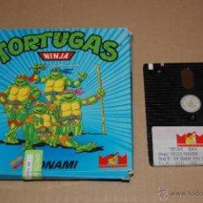 Videojuegos y Consolas: JUEGO ORDENADOR PC TORTUGAS NINJA SPECTRUM +3. Lote 48503172