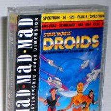 Videojuegos y Consolas: STAR WARS DROIDS:THE ADVENTURES OF R2-D2 AND C-3PO / MASTERTRONIC LUCASFILMS 1988 / SPECTRUM AMSTRAD. Lote 48536322