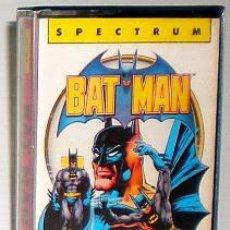 Videojogos e Consolas: BATMAN [OCEAN] 1986 ERBE SOFTWARE [ZX SPECTRUM] RITMAN,DRUMMOND,SERLIN,THORPE, BAT MAN,WAKELIN. Lote 48678747
