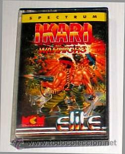 IKARI WARRIORS [ELITE SYSTEM] 1988 SNK / MCM SOFTWARE [ZX SPECTRUM] (Juguetes - Videojuegos y Consolas - Spectrum)