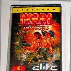 Videojuegos y Consolas: IKARI WARRIORS [ELITE SYSTEM] 1988 SNK / MCM SOFTWARE [ZX SPECTRUM]. Lote 41858846