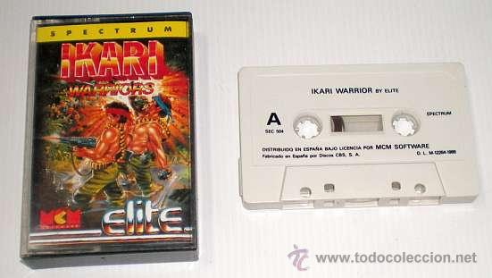 Videojuegos y Consolas: IKARI Warriors [Elite System] 1988 SNK / MCM Software [Zx Spectrum] - Foto 2 - 41858846