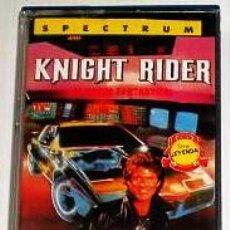 Videojuegos y Consolas: KNIGHT RIDER [OCEAN SOFTWARE] 1986 ERBE SOFTWARE [ZX SPECTRUM]. Lote 43346786