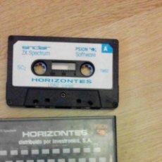 Videojuegos y Consolas: HORIZONTES - PSION - SINCLAIR - ZX SPECTRUM - 1982 -DIFICIL. Lote 48910415