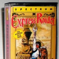 Videojuegos y Consolas: EXPRESS RAIDER [US GOLD] 1987 DATA EAST - ERBE SOFTWARE [ZX SPECTRUM]. Lote 48920656