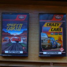 Videojuegos y Consolas: PACK CRAZY CARS I Y II - JUEGO DE SPECTRUM - CASSETTE - TITUS - 1988. Lote 48969966