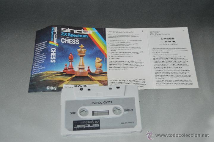 JUEGO CINTA CASSETTE LOAD CHESS SPECTRUM (Juguetes - Videojuegos y Consolas - Spectrum)