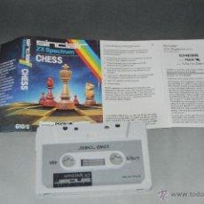 Videojuegos y Consolas: JUEGO CINTA CASSETTE LOAD CHESS SPECTRUM. Lote 48993764