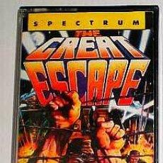 Videojogos e Consolas: THE GREAT ESCAPE [OCEAN] [1986] [ERBE SOFTWARE] [ZX SPECTRUM] BOB WAKELIN. Lote 43053528