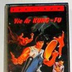 Videojuegos y Consolas: YIE AR KUNG-FU [IMAGINE / KONAMI] 1986 [ERBE SOFTWARE] [ZX SPECTRUM] GALWAY,THORPE. Lote 43746085