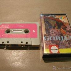 Videojuegos y Consolas: JUEGO SPECTRUM SINCLAIR 48K GORILA. Lote 49029645