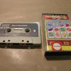 Videojuegos y Consolas: JUEGO SPECTRUM SINCLAIR 48K FRUIT MACHINE. Lote 49029671