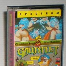 Videojuegos y Consolas: GAUNTLET [US GOLD] [GREMLIN GRAPHICS] ATARI GAMES [1987] - ERBE SOFTWARE [ZX SPECTRUM]. Lote 45001625