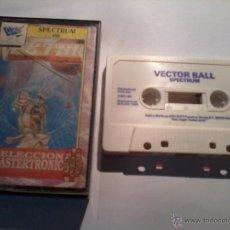 Videojuegos y Consolas: SPECTRUM 48K VECTOR BALL. Lote 49201166