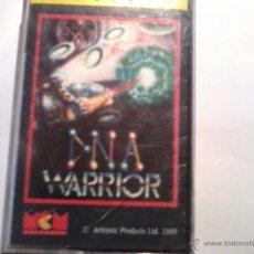 Videojuegos y Consolas: SPECTRUM. D. N. A. WARRIOR COMMODORE. SOLO CARATULA. NO JUEGO. Lote 49201691