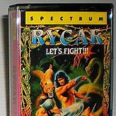 Videogiochi e Consoli: RYGAR - LET´S FIGHT!!! [PROBE] 1987 US GOLD / TECMO LTD - ERBE SOFTWARE [ZX SPECTRUM]. Lote 49202730