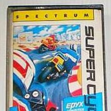 Videojuegos y Consolas: SUPER CYCLE [EPYX/US GOLD] 1987 - ERBE SOFTWARE [ZX SPECTRUM]. Lote 49203025