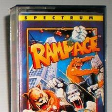 Videojuegos y Consolas: RAMPAGE [ACTIVISION] 1988 [BALLY MIDWAY] THE HIT SQUAD IBSA ERBE SOFTWARE [ZX SPECTRUM]. Lote 49262606