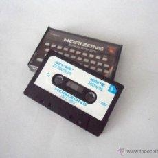 Videojuegos y Consolas: CASETE CON PROGRAMAS SINCLAIR ZX SPECTRUM. HORIZONS. SOFTWARE STARTER PACK.. Lote 49271731