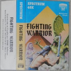 Videojogos e Consolas: ZX SPECTRUM 48K - FIGHTING WARRIOR (MELBOURNE HOUSE / ERBE) (1985). Lote 49308408