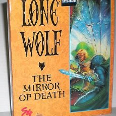 Videojuegos y Consolas: LONE WOLF - THE MIRROR OF DEATH [AUDIOGENIC] 1991 SYSTEM 4 DE ESPAÑA [ZX SPECTRUM] MR MICRO. Lote 49638404