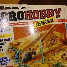 Videojuegos y Consolas: MICROHOBBY SEMANAL SPECTRUM, 14 NUMS, DEL 7 AL 20. Lote 49229598