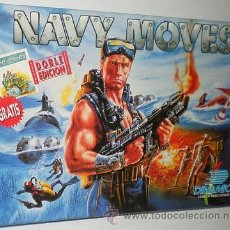 Videojuegos y Consolas: NAVY MOVES [DINAMIC SOFTWARE] 1988 [ZX SPECTRUM] + ARMY MOVES [DINAMIC SOFTWARE] 1987. Lote 49897720