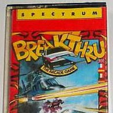 Videojuegos y Consolas: BREAKTHRU FROM DATA EAST [US GOLD] 1986 - DATA EAST / ERBE SOFTWARE] [ZX SPECTRUM]. Lote 43053096