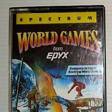 Videojuegos y Consolas: WORLD GAMES [US GOLD / EPYX] 1987 - CHOICE / ERBE SOFTWARE [ZX SPECTRUM]. Lote 39825674
