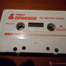 Videojuegos y Consolas: SPECTRUM SU MEJOR HORA. Lote 50240239