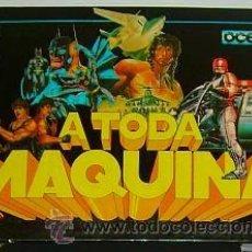 Videojuegos y Consolas: A TODA MAQUINA [ OCEAN / ERBE ] 1989 [ZX SPECTRUM] BATMAN,ROBOCOP,RAMBO III,DRAGON NINJA,AFTERBURNER. Lote 39824781