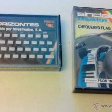 Videojuegos y Consolas: SINCLAIR -ZX SPECTRUM -CHEQUERED FLAG -HORIZONTES-PSION SOFTWARE. Lote 50853933