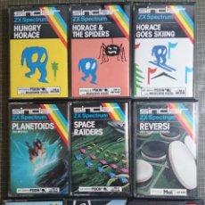 Videojuegos y Consolas: SPECTRUM JUEGOS PACK DE 9. Lote 51421680