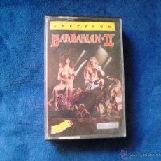 Videojuegos y Consolas: BARBARIAN II JUEGO PARA CONSOLA SPECTRUM CON INSTRUCCIONES 1988. Lote 51523136