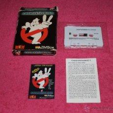 Videojuegos y Consolas: GAME FOR SPECTRUM MCM CAZAFANTASMAS 2 SPANISH VERSION ACTIVISION 1988. Lote 51738292