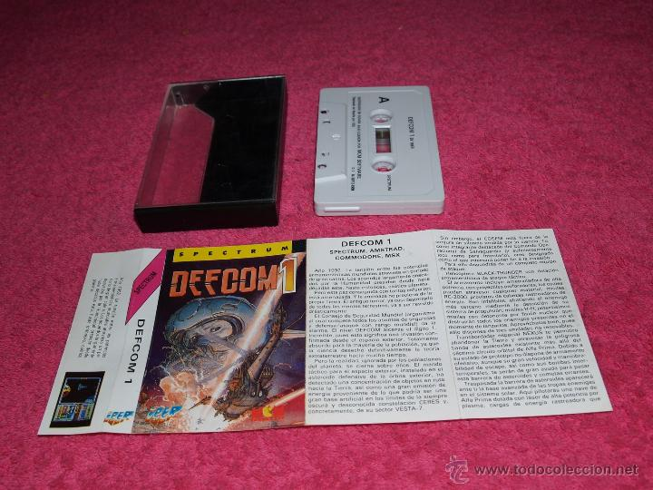 GAME FOR SPECTRUM BY IBER DEFCOM1 SPANISH VERSION MCM 1989 (Juguetes - Videojuegos y Consolas - Spectrum)
