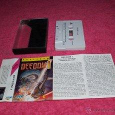 Videojuegos y Consolas: GAME FOR SPECTRUM BY IBER DEFCOM1 SPANISH VERSION MCM 1989. Lote 51769737