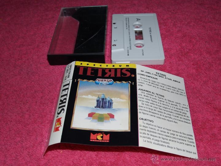 GAME FOR SPECTRUM MCM TETRIS SPANISH VERSION MIRRORSOFT 1989 (Juguetes - Videojuegos y Consolas - Spectrum)