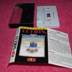 Videojuegos y Consolas: GAME FOR SPECTRUM MCM TETRIS SPANISH VERSION MIRRORSOFT 1989. Lote 51769862
