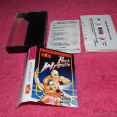 Videojuegos y Consolas: GAME FOR SPECTRUM MCM ROCK AND WRESTLE SPANISH VERSION 1988 SILVERBIRD. Lote 51769898